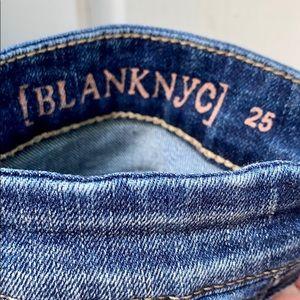 Blank NYC Skirts - NWT BlankNYC Retro Denim Zipper Pencil Skirt Sz 25